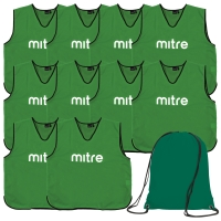 Green Bib 10 Pack with Bag