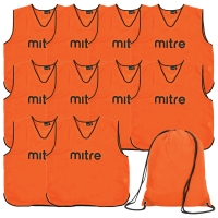Orange Bib 10 Pack with Bag