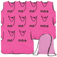 Pink Bib 10 Pack with Bag