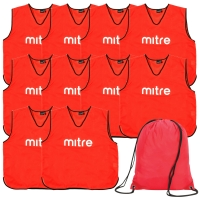 Red Bib 10 Pack with Bag