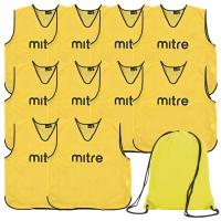 Yellow Bib 10 Pack with Bag