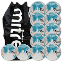 Fusion 12 Ball Deal - White/Blue