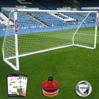 Mini Soccer Match Goal (12ft x 6ft) Goal Deal