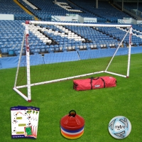 Mini Soccer Training Goal (12ft x 6ft)  - Goal Deal