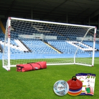Mini Soccer Match Goal (12ft x 6ft) Goal Deal