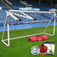 Mini Soccer Training Goal (12ft x 6ft)  - Goal Deal