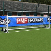 5-A-Side Academy Portable Goal (16ft X 4ft) - PAIR