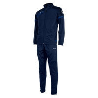 Prestige Polyester Suit - Navy/Royal