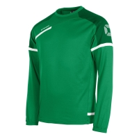Prestige Top Round Neck - Green/White