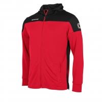 Pride Hooded Sweat Jacket - Red/Black
