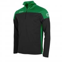 Pride Training 1/4 Zip Top - Black/Green
