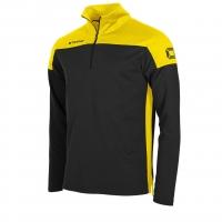 Pride Training 1/4 Zip Top - Black/Yellow