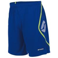 Pisa Shorts - Deep Blue/Neon Yellow