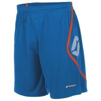 Pisa Shorts - Blue/Shocking Orange