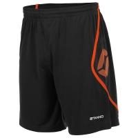 Pisa Shorts - Black/Shocking Orange