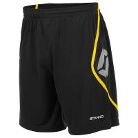 Pisa Shorts - Black/Yellow