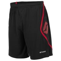 Pisa Shorts - Black/Red