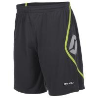 Pisa Shorts - Anthracite/Neon Yellow