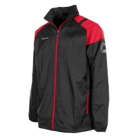 Centro All Weather Jacket - Black/Red