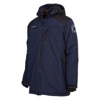Centro Padded Coach Jacket - Navy/Black