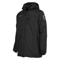Centro Padded Coach Jacket - Black