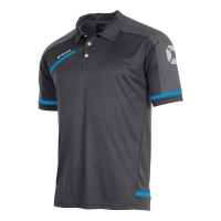Prestige Polo - Dark Grey/Blue