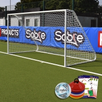 Mini Soccer Academy Folding Goal (12ft x 6ft) Goal Deal