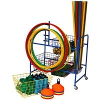 Four Basket Storage Trolley