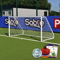 5-A-Side Academy Folding Goal (8ft x 4ft) Goal Deal