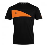 Delta Plus T-Shirt - Black/Tangerine