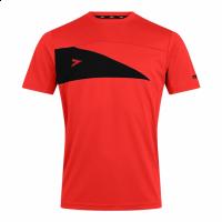 Delta Plus T-Shirt - Scarlet/Black