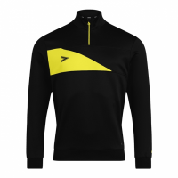 Delta Plus 1/4 Zip Top - Black/Yellow
