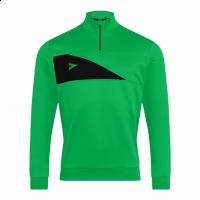 Delta Plus 1/4 Zip Top - Emerald/Black