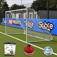 Mini Soccer Academy Folding Goal (12ft x 6ft) Goal Deal