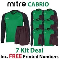 Cabrio 7 Kit Deal - Green/Black