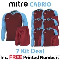Cabrio 7 Kit Deal - Maroon/Sky