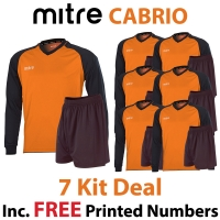 Cabrio 7 Kit Deal - Tangerine/Black