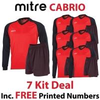Cabrio 7 Kit Deal - Scarlet/Black