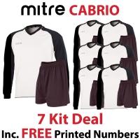 Cabrio 7 Kit Deal - White/Black
