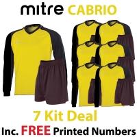 Cabrio 7 Kit Deal - Yellow/Black
