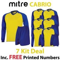 Cabrio 7 Kit Deal - Yellow/Royal