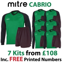 Cabrio 7 Kit Deal - Green/Black