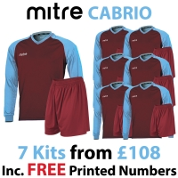 Cabrio 7 Kit Deal - Maroon/Sky