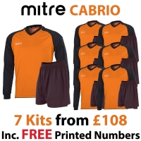 Cabrio 7 Kit Deal - Tangerine/Black
