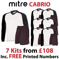 Cabrio 7 Kit Deal - White/Black