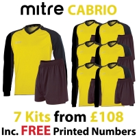 Cabrio 7 Kit Deal - Yellow/Black