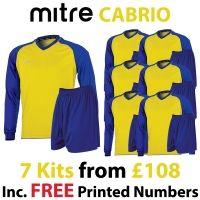Cabrio 7 Kit Deal - Yellow/Royal