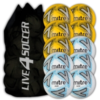 Calcio White & Yellow Mixed 12 Ball Deal