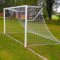 Mini Soccer Club Socketed Goal - PAIR