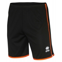 Bonn Football Shorts - Black/Orange